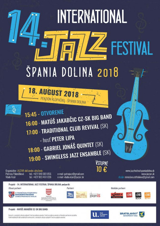 14.International Jazz Festival Špania Dolina 2018